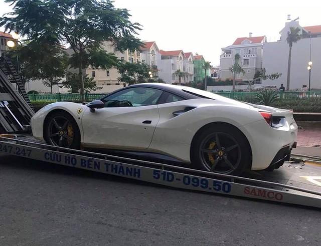 Tay chơi Việt tậu thêm Ferrari 488 GTB sau vụ cháy kinh hoàng của Lamborghini Aventador - Ảnh 1.