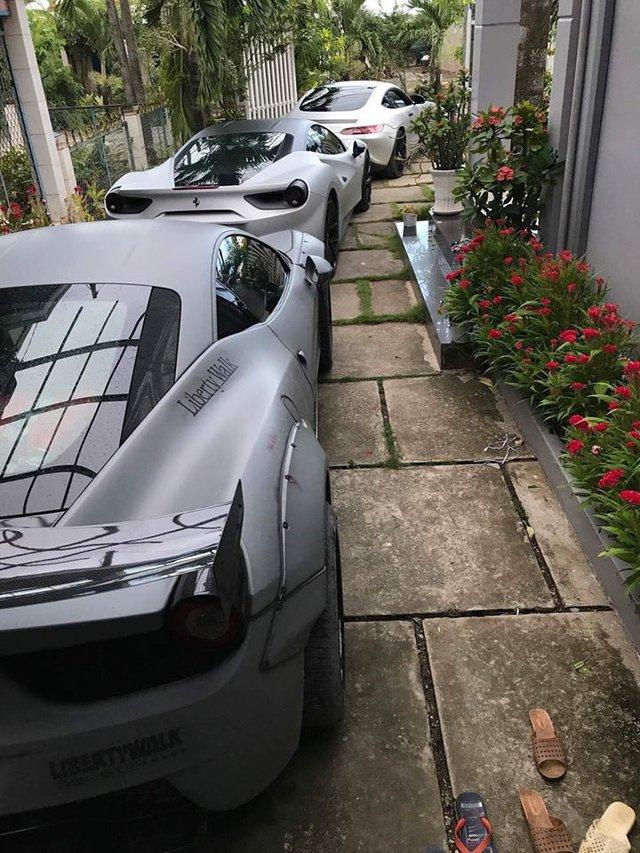 Vẻ đẹp bộ 3 siêu xe khủng xuất hiện cùng nhau tại Gò Công - Ảnh 4.