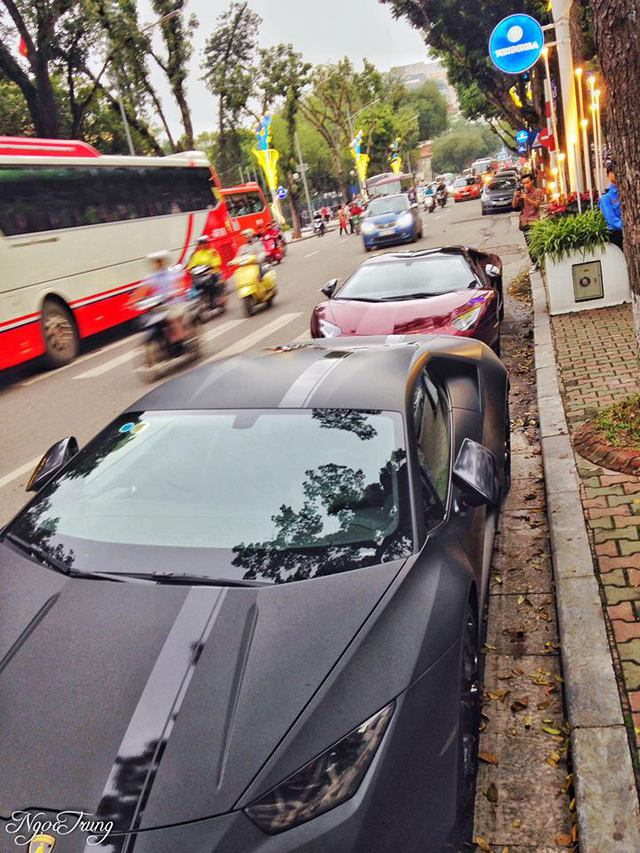 Thiếu gia 96 thay đổi màu sơn độc cho Lamborghini Aventador mui trần đầu tiên Việt Nam - Ảnh 3.