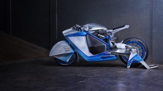 Project XG-848X: Chiếc Ducati bước ra từ phim viễn tưởng