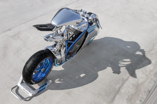 Project XG-848X: Chiếc Ducati bước ra từ phim viễn tưởng - Ảnh 3.