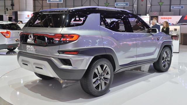 Làm quen với Ssangyong XAVL - xe crossover 7 chỗ lai minivan - Ảnh 3.