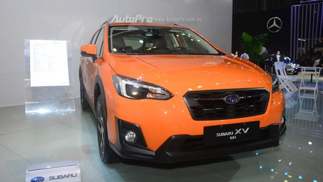 Cận cảnh Subaru XV 2018 có giá bán 1,55 tỷ Đồng tại Việt Nam