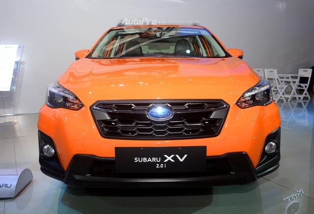 Cận cảnh Subaru XV 2018 có giá bán 1,55 tỷ Đồng tại Việt Nam - Ảnh 1.