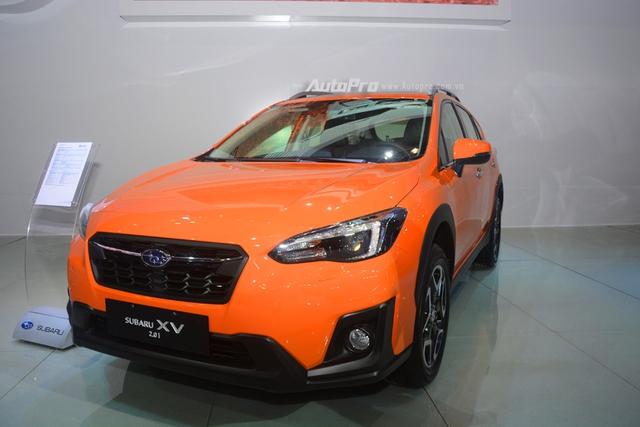 Cận cảnh Subaru XV 2018 có giá bán 1,55 tỷ Đồng tại Việt Nam - Ảnh 2.