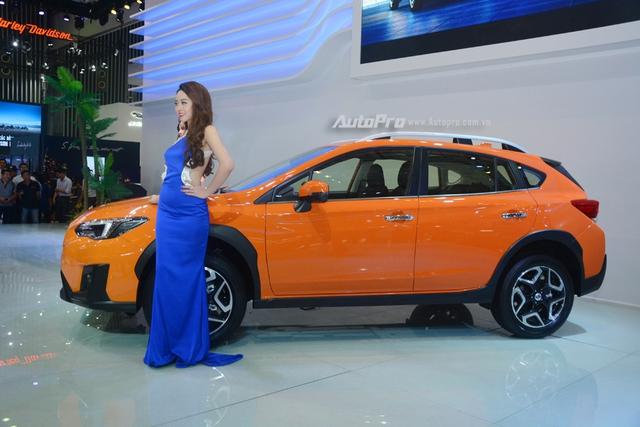 Cận cảnh Subaru XV 2018 có giá bán 1,55 tỷ Đồng tại Việt Nam - Ảnh 4.