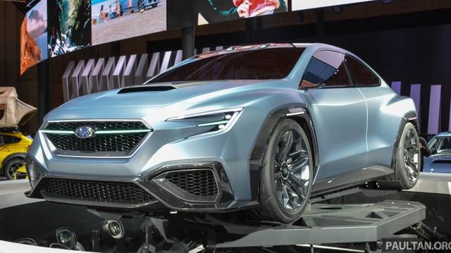 Subaru Viziv Performance - Hình ảnh xem trước của sedan thể thao WRX thế hệ mới