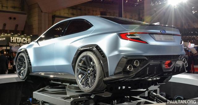 Subaru Viziv Performance - Hình ảnh xem trước của sedan thể thao WRX thế hệ mới - Ảnh 2.