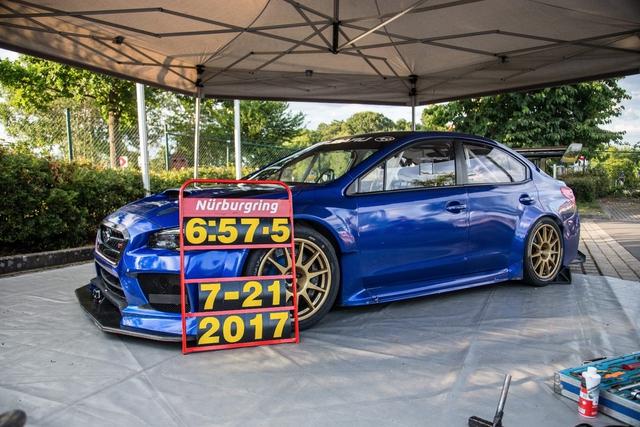 Subaru WRX STI phá kỷ lục tại trường đua danh tiếng Nurburgring  - Ảnh 2.