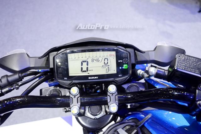 Cận cảnh Suzuki GSX-S150, đối thủ chính của Yamaha TFX 150 tại Việt Nam - Ảnh 9.