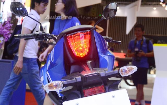 Cận cảnh Suzuki GSX-S150, đối thủ chính của Yamaha TFX 150 tại Việt Nam - Ảnh 8.