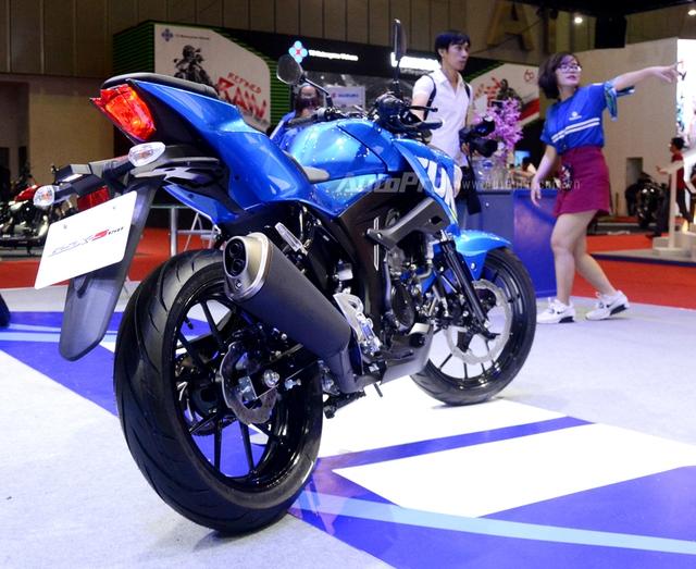 Cận cảnh Suzuki GSX-S150, đối thủ chính của Yamaha TFX 150 tại Việt Nam - Ảnh 5.