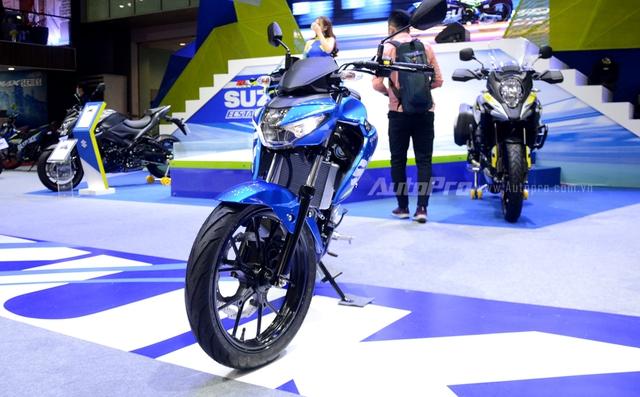 Cận cảnh Suzuki GSX-S150, đối thủ chính của Yamaha TFX 150 tại Việt Nam - Ảnh 1.