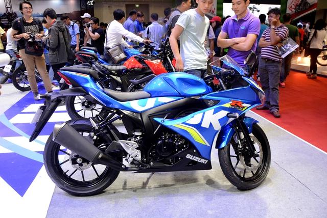 Cận cảnh Suzuki GSX-R150, đối thủ chính của Yamaha R15 và Honda CBR150R - Ảnh 4.