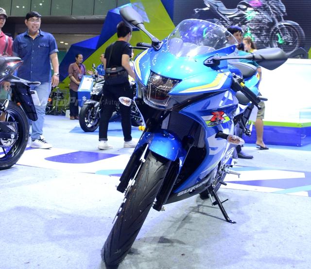 Cận cảnh Suzuki GSX-R150, đối thủ chính của Yamaha R15 và Honda CBR150R - Ảnh 6.