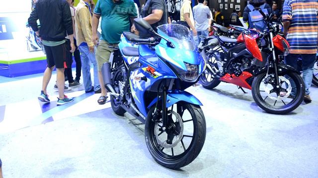 Cận cảnh Suzuki GSX-R150, đối thủ chính của Yamaha R15 và Honda CBR150R