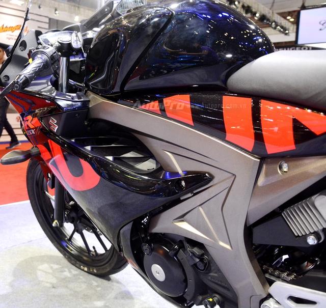 Cận cảnh Suzuki GSX-R150, đối thủ chính của Yamaha R15 và Honda CBR150R - Ảnh 9.