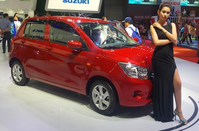 Không chỉ Toyota Wigo, Suzuki cũng giới thiệu đối thủ đáng gờm của Kia Morning tại VMS 2017 - Ảnh 3.