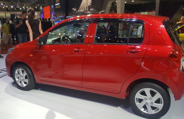 Không chỉ Toyota Wigo, Suzuki cũng giới thiệu đối thủ đáng gờm của Kia Morning tại VMS 2017 - Ảnh 4.