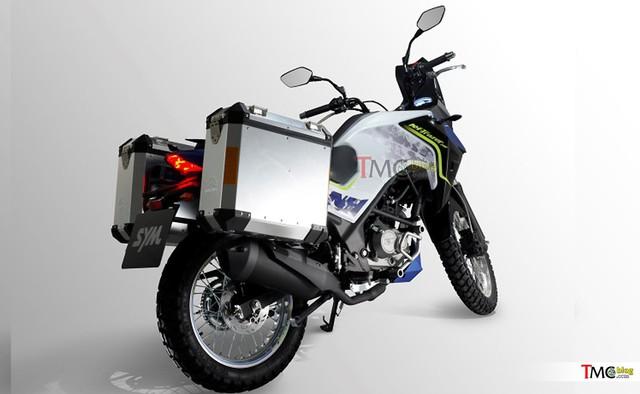 SYM Trazer 200 - Xe adventure cho người mới chơi mô tô - Ảnh 4.