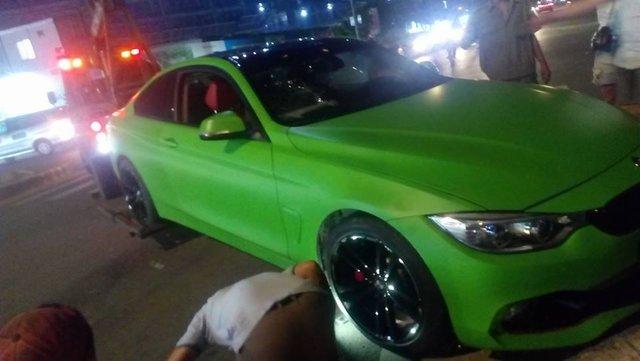BMW 4-Series Coupe màu hiếm gặp nạn tại Sài thành - Ảnh 1.