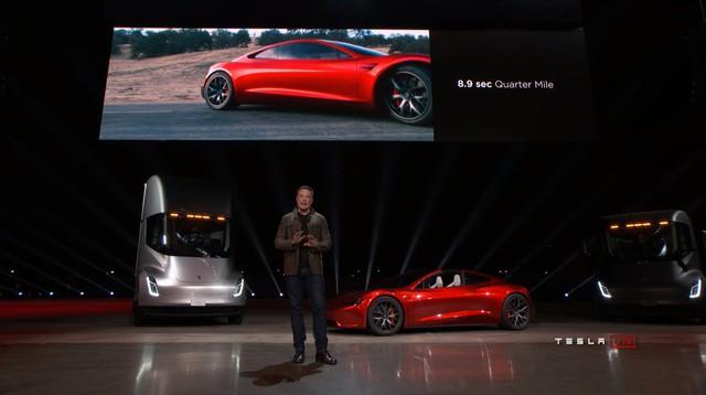 Tesla Roadster gây sốc khi tăng tốc từ 0-96 km/h chỉ trong 1,9 giây - Ảnh 1.
