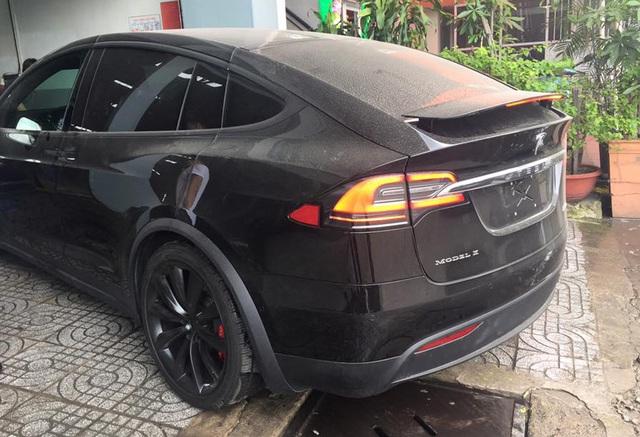SUV điện Tesla Model X P100D đầu tiên xuất hiện tại Sài thành - Ảnh 4.