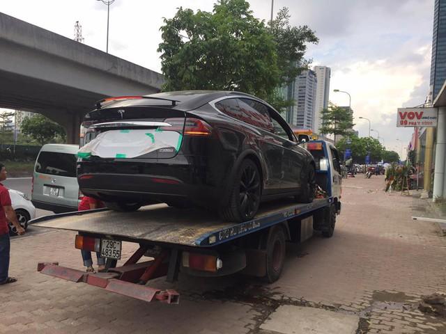 Tesla Model X P100D đầu tiên tại Việt Nam xuất hiện ở Hà Nội - Ảnh 2.