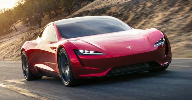 VIDEO: Xem 1,9 giây tăng tốc nhanh hơn máy bay phản lực của Tesla Roadster thế hệ mới - Ảnh 1.