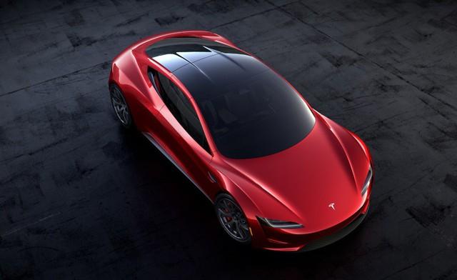 VIDEO: Xem 1,9 giây tăng tốc nhanh hơn máy bay phản lực của Tesla Roadster thế hệ mới - Ảnh 2.