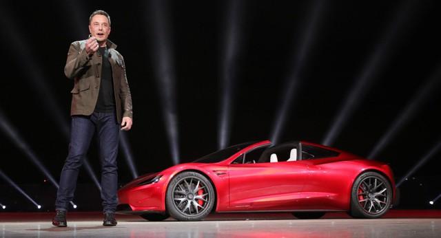 VIDEO: Xem 1,9 giây tăng tốc nhanh hơn máy bay phản lực của Tesla Roadster thế hệ mới - Ảnh 4.