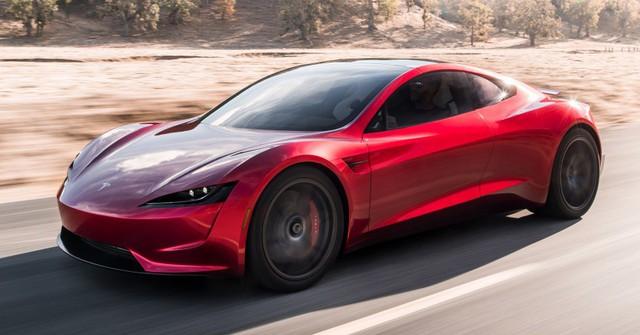 VIDEO: Xem 1,9 giây tăng tốc nhanh hơn máy bay phản lực của Tesla Roadster thế hệ mới - Ảnh 5.