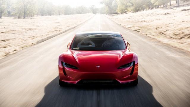 VIDEO: Xem 1,9 giây tăng tốc nhanh hơn máy bay phản lực của Tesla Roadster thế hệ mới - Ảnh 6.