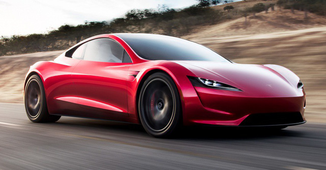 VIDEO: Xem 1,9 giây tăng tốc nhanh hơn máy bay phản lực của Tesla Roadster thế hệ mới - Ảnh 7.