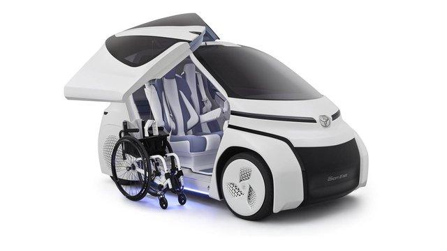 Toyota Concept-i Ride - Xe nhỏ nhất thế giới được trang bị cửa cánh chim - Ảnh 4.