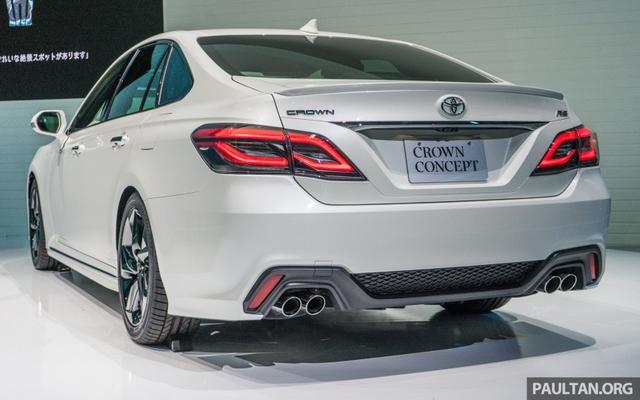 Sedan hạng sang cỡ lớn Toyota Crown Concept ra mắt tại quê nhà - Ảnh 3.
