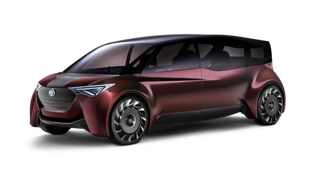 Toyota Fine-Comfort Vehicle: Trông như xe minivan nhưng lại được gọi là sedan cao cấp