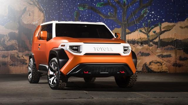 """Toyota FT-4X - Xe việt dã cho giới trẻ muốn """"đưa nhau đi trốn"""""""