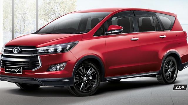 Toyota giới thiệu Innova 2017 tại Malaysia, có thêm bản 2.0X mới