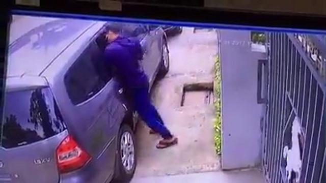 """Đề phòng chiêu phá kính xe để trộm cắp của kẻ gian trong """"tháng củ mật"""""""