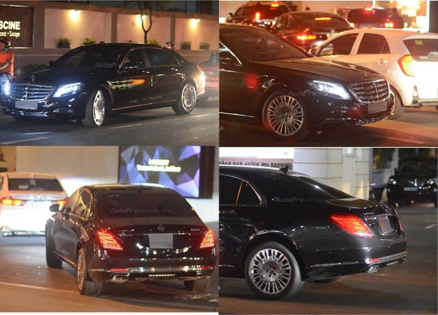 Dàn xe siêu sang Mercedes-Maybach S600 tháp tùng đại gia đến dự đám cưới Hoa hậu Việt Nam 2012 - Ảnh 1.