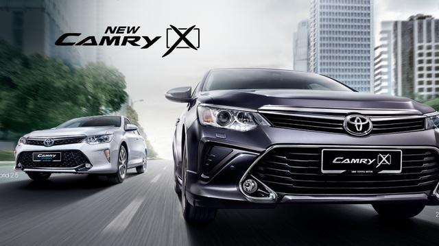 Toyota Camry 2017 tiếp tục ra mắt Đông Nam Á, thêm trang bị và giá không đổi