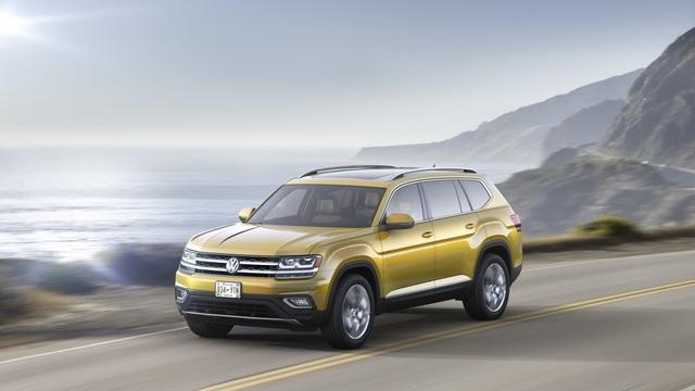 Crossover 7 chỗ Volkswagen Atlas 2018 bán chạy hơn đối thủ Mazda CX-9
