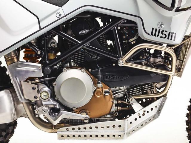 Ducati Hypermotard 1100 biến hình thành xe adventure chính hiệu - Ảnh 2.