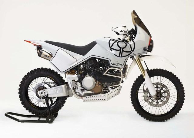 Ducati Hypermotard 1100 biến hình thành xe adventure chính hiệu - Ảnh 3.