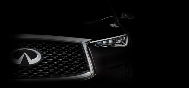 Đấu Mercedes-Benz GLC, Infiniti QX50 2019 dùng động cơ tỷ số nén biến thiên đầu tiên thế giới - Ảnh 1.