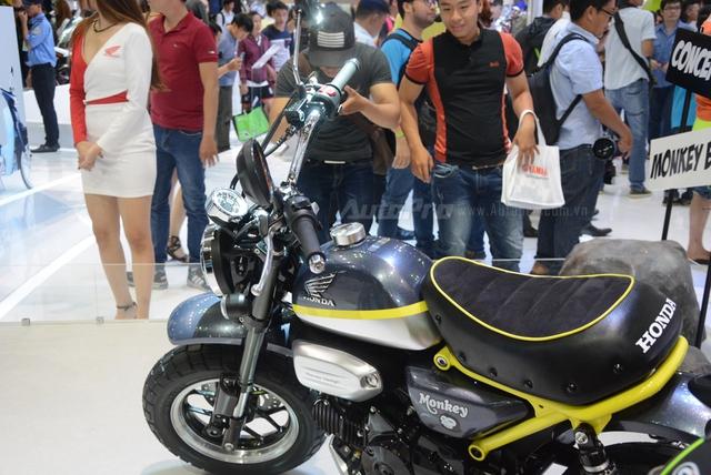 Khỉ con Honda Monkey 125 xuất hiện lần đầu tại Việt Nam - Ảnh 13.