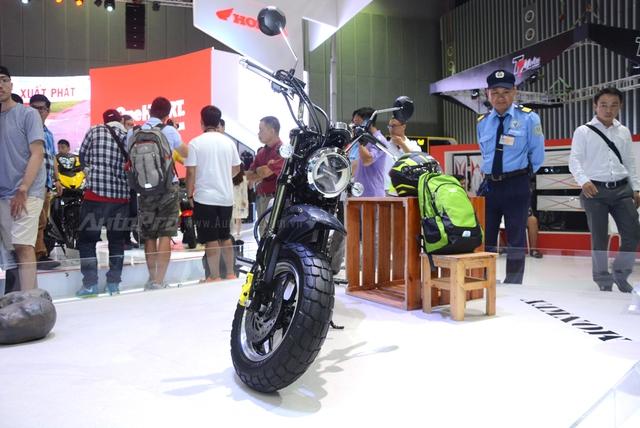 Khỉ con Honda Monkey 125 xuất hiện lần đầu tại Việt Nam - Ảnh 1.