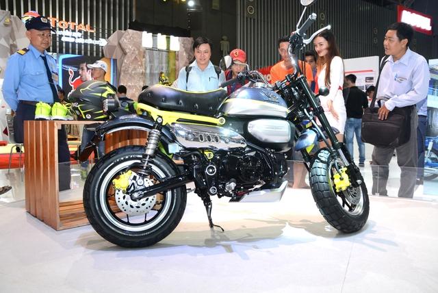 Khỉ con Honda Monkey 125 xuất hiện lần đầu tại Việt Nam - Ảnh 7.