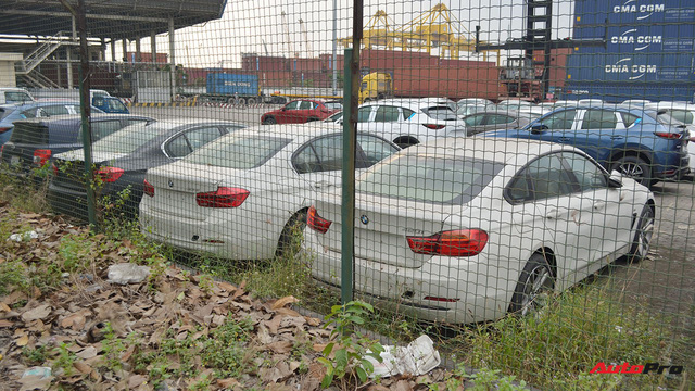 Ngoài BMW, hàng loạt ô tô nhập khẩu và lắp ráp chen chân tại cảng VICT dịp cuối năm - Ảnh 8.